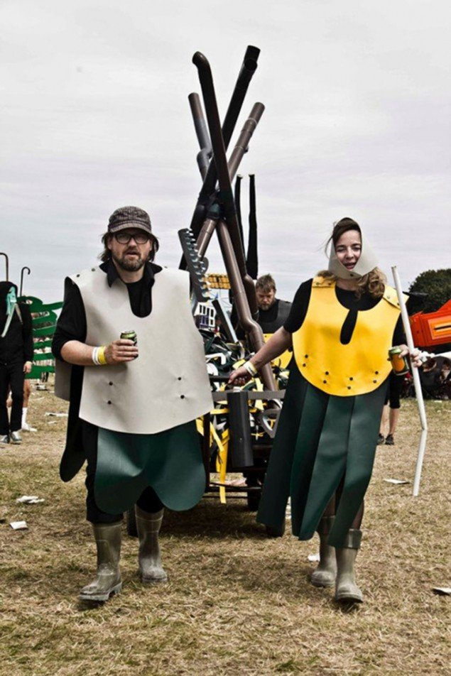 Stak, Kunstparade 2012, ACTS/ Roskildefestivalen. Foto: Rasmus Weng