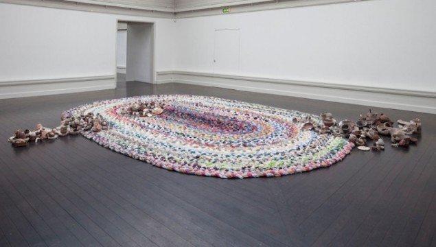 On the Fringe of Civilazation, på udstillingen Beyond Reach, Den Frie Udstillingsbygning, 2014. Foto: Anders Sune Berg