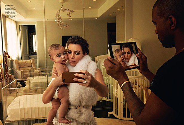 Kim Kardashian. Foto: Annie Leibovitz for Vogue