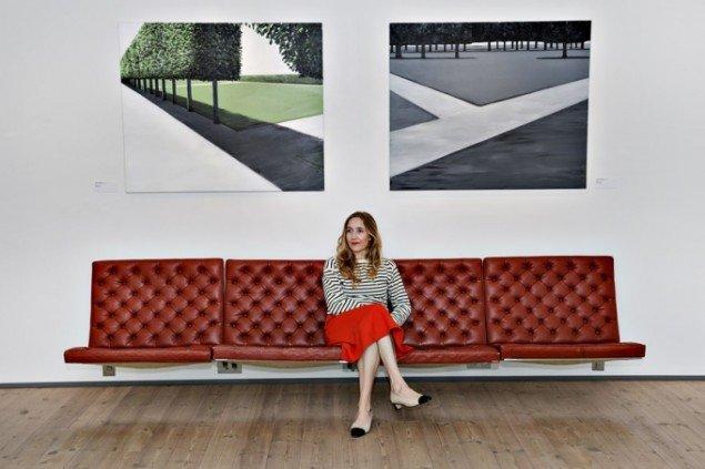 Maria Wandel: Parks & Hotel Rooms. Udstillingsview. Foto: Bent Bech