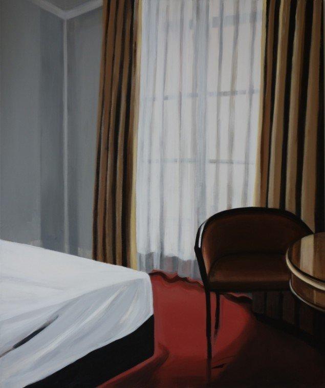 Maria Wandel: Hotel Room#1. Parks & Hotel Rooms. Foto: Maria Wandel