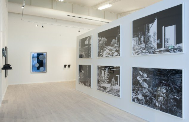 Ruth Campau: Blobs for Yves 2015. Ann Lislegaard fra serien: Entropology, 2007. Foto: Torben E Meyer