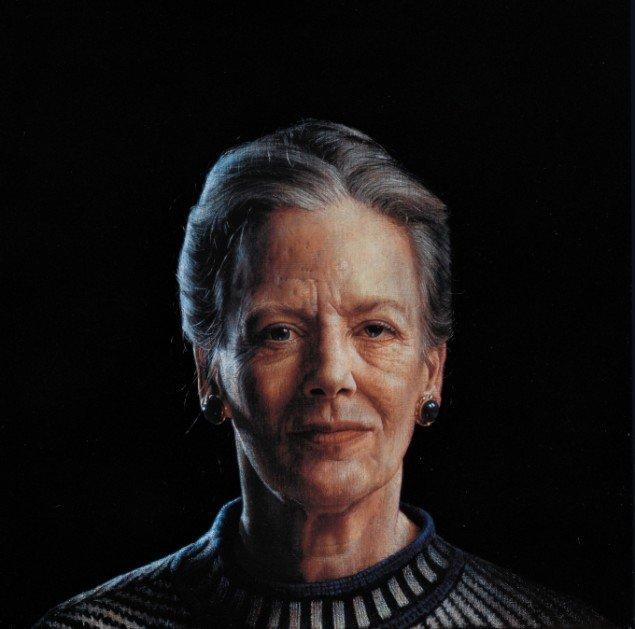 Thomas Kluge: Hendes Majestæt Dronning Margrethe II, 1995. Pressefoto