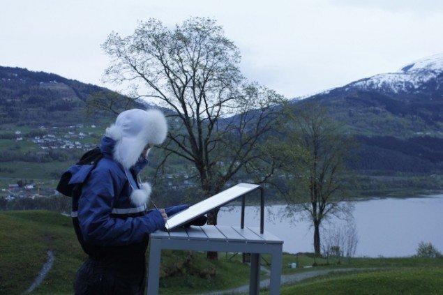Marking Breath, den 29. maj, 2015. Voss, Norge. Solopgang 4.23, solnedgang 22.42. Foto: Therese Maria Gram