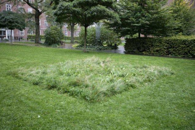 Dobbet landskab - en have efter nedtagelsen. Foto: Pernille Rom Bruun