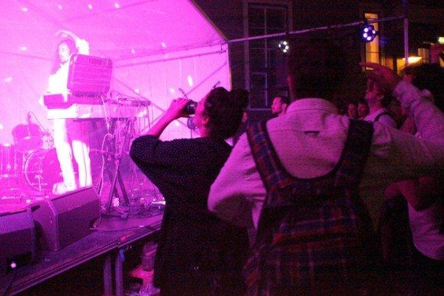 Sceneprogrammet under CHART bød på både livekoncerter og DJ-sets. Foto: Carsten Nordholt