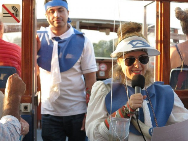 Jenny Garf Sheppard introducerer Channel Mist. Foto: Jenny Selldén