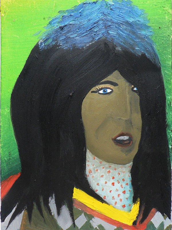 We Are The Painters: Brune aux reflets bleus, 2006