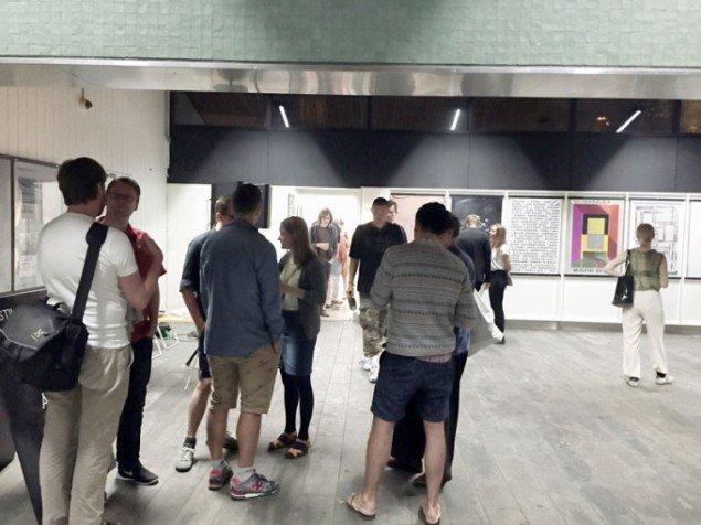 Åbningen af Mix Tape på Udstillingsstedet Sydhavn Station. (Foto: Carl Martin Faurby)