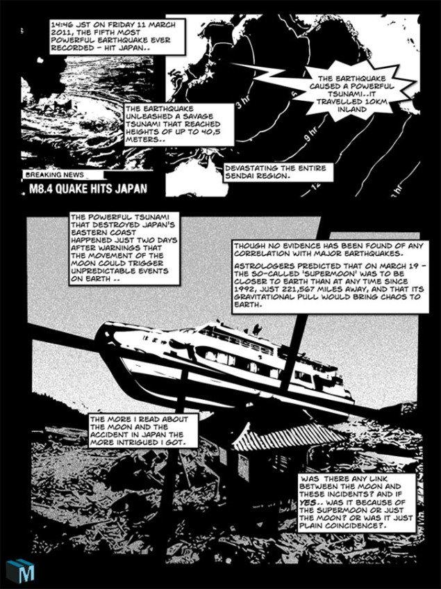 Kristoffer Akselbo: Supermoon Comic, 2011-2014
