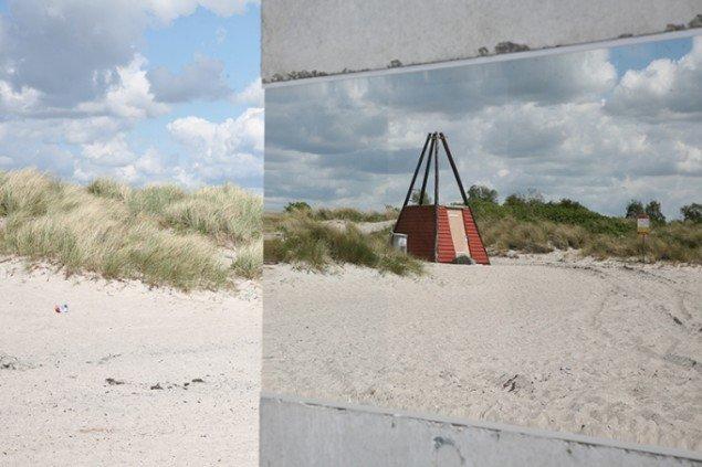 Gazebo, 2015, Ishøj Strand. Kunst i sollys, Arken, 2015. Foto: AVPD