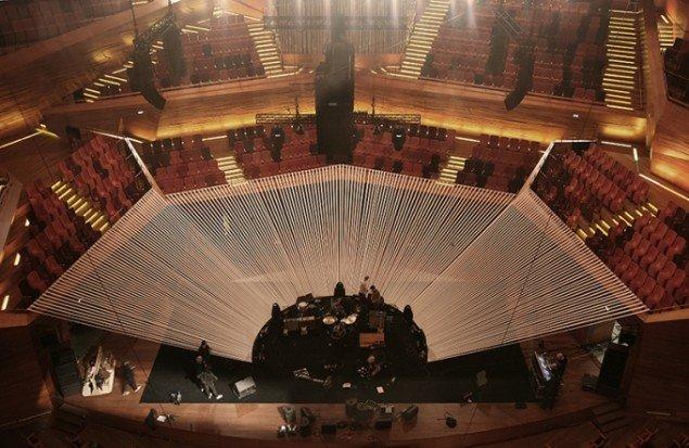 The Raveonettes 10 Years Anniversary Concert, 2012, DR-Koncerthuset, København. Scenedesign. Foto: AVPD