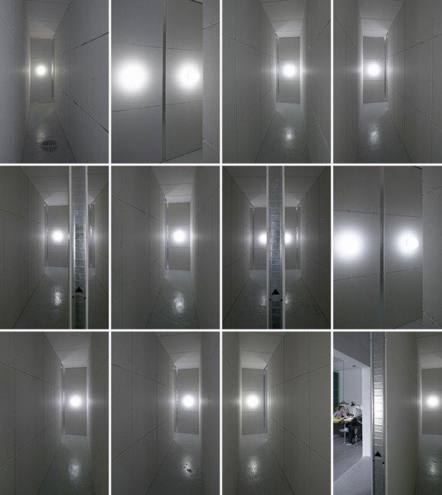 PSS_M, 2004. 11 identiske korridorer. PSS-M, Kirkhoff, København. Foto: Anders Sune Berg. Courtesy: Kirkhoff