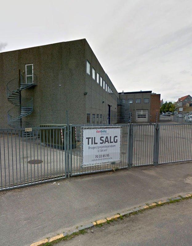 Bygningen, der nu rummer to af Københavns mest profilerede gallerier. (Foto fra Google Streetview)