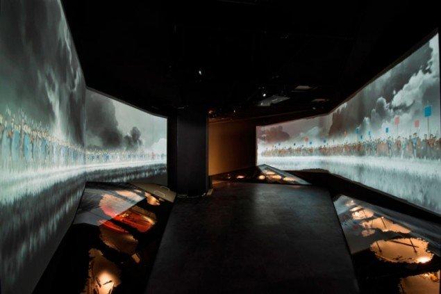 Installationsview fra Moesgaards Oldtids Udstilling. (Foto: Medieafdelingen – Moesgaard Museum)