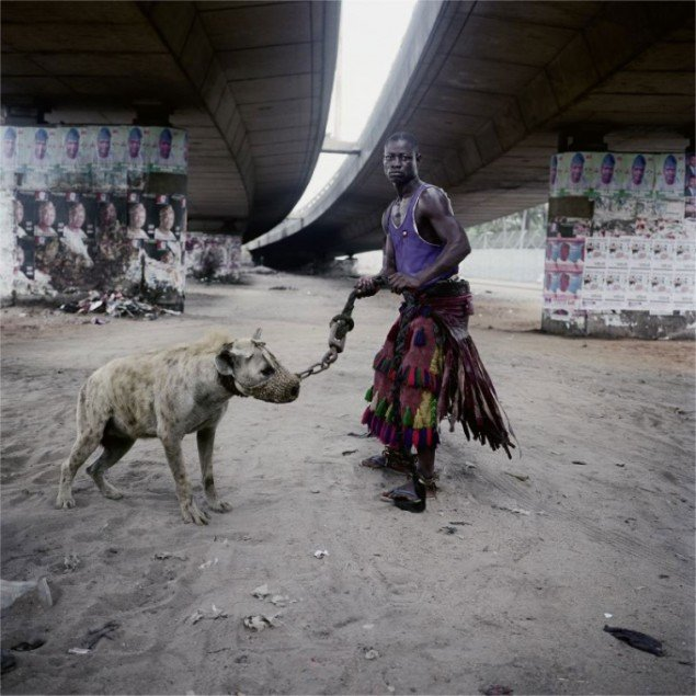 Pieter Hugo (Sydafrika): Abdullahi Mohammed with Mainasara, Lagos, Nigeria, 2007. (Courtesy: Priska Pasquer)
