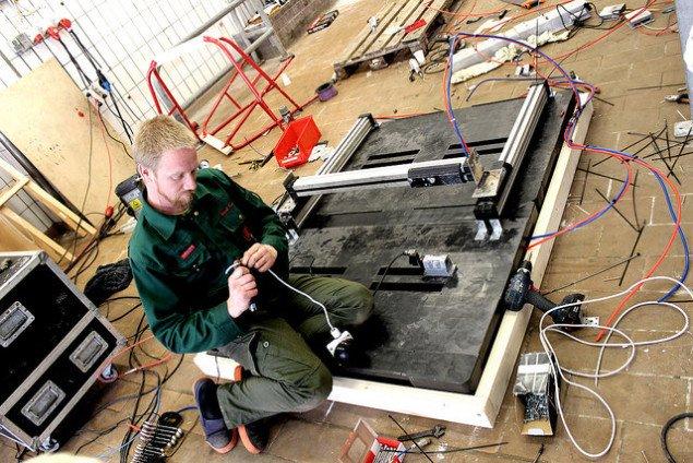 Slagteriet Holstebro. Fra sommerens Workshop. Foto: Jens og Morten