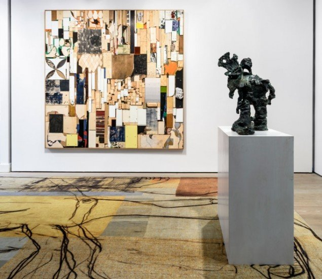 Peter Linde Busk, udstillingsview, 2015. (Foto: Alastair Philip Wiper)