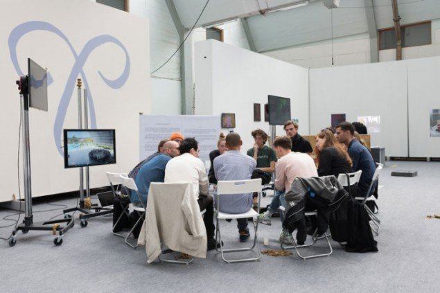 Workshop ved Auto Italia under Alt_Cph 15 – Nucleus. (Foto: David Stjernholm)