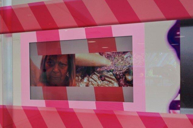 Louise Rosendal & Franco Turchi: Window, installationsview (detalje), 2015. (Pressefoto, Tranen)