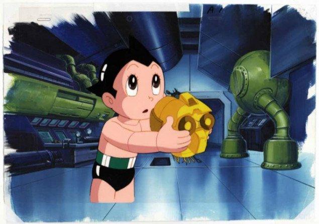 Astro Boy var den første moderne manga, her i tegnefilmsudgave fra 1963. Tezuka Osamu (1928-1989), 1963, Foto: Pressefoto, Collection of Mike and Jeanne Glad