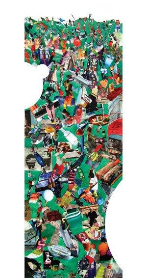 Plakat fra udstillingen. Maria Nicolaisen: Alt muligt, 2008