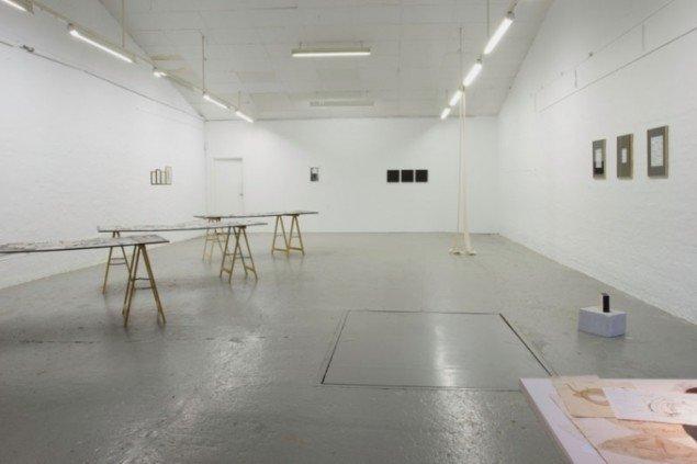 Udstillingsview fra Dokumentation/Arkiv (arbejdstitel), 2015, Ringsted Galleriet. Foto: Morten K. Jacobsen