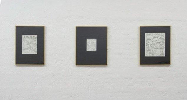 Installationsview af Søren Andreasens værker på udstillingen. Foto: Morten K. Jacobsen