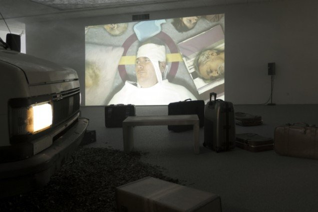 Bedwyr Williams: Echt. Installationsview. Foto: Sonja Lillebæk Christensen