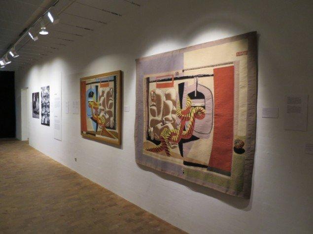 Vægtæpper af Le Corbusier. © Museum Jorn.