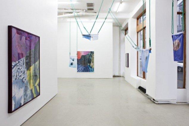 Nina Beier: Bleeding Clothes, Standart (OSLO), 2013. Foto: Vegard Kleven
