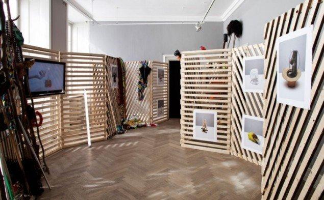 Installationsview, Play Hard. (Foto: Leá Nielsen)