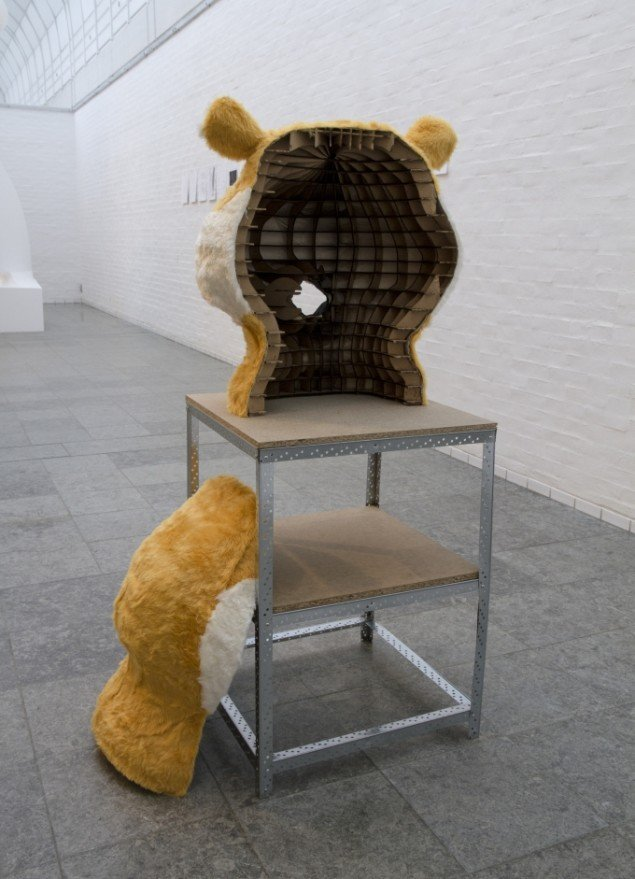 Kasper Hesselbjerg: Arkitekturmodel til mit hovede. Foto: Holstebro Kunstmuseum
