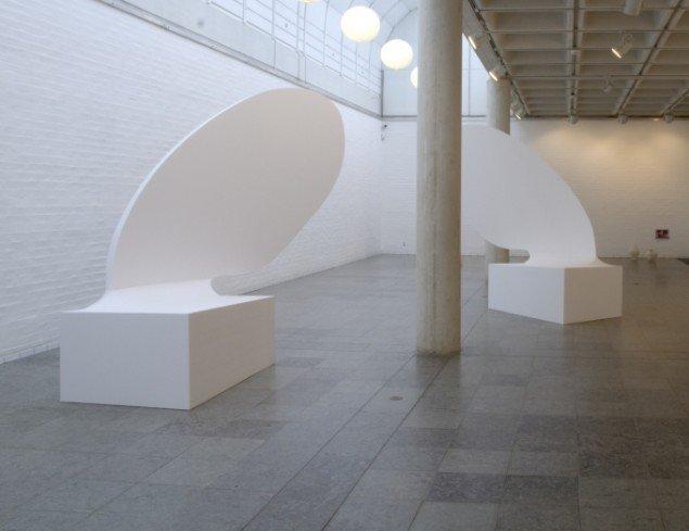 Kasper Hesselbjerg: Uddrag fra Middag i maven på en hval. Foto: Holstebro Kunstmuseum