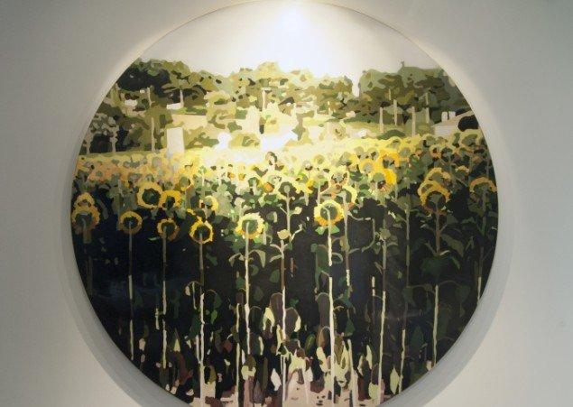 Erik A. Frandsen - Arles - Mon Amour - No Pasaran, 2015. 250 x 270 cm. Foto: Maria Jørgensen