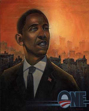 Plakaten er bestilt af Konventet og bruges som valgplakat i forbindelse med det amerikanske præsidentvalg.