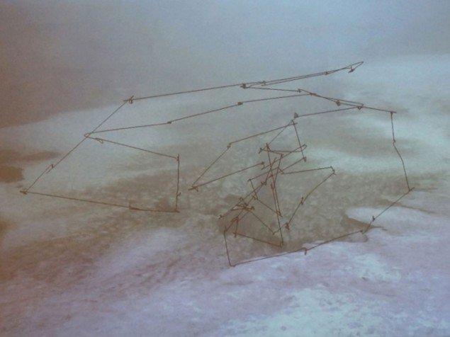 Espen Sommer Eide (NO), Material Vision – Silent Reading, 2015. (Foto: Line Møller Lauritsen)