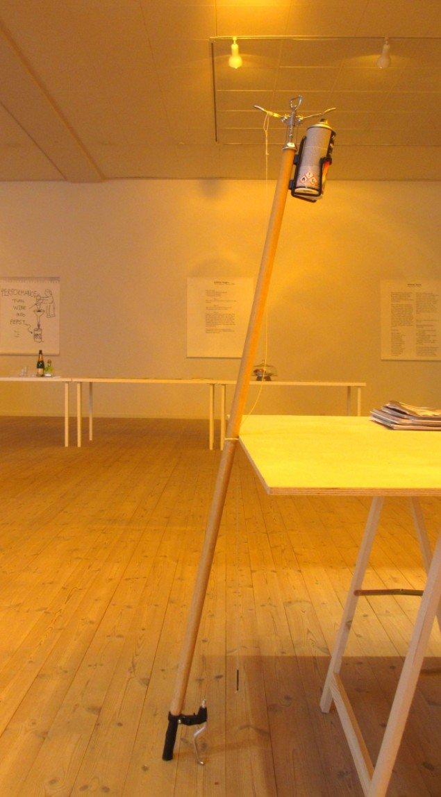 Kunsthal Aarhus viser hvordan man er politisk aktiv. Ai Weiwei: CCTV Spray. Foto: Ole Bak Jakobsen