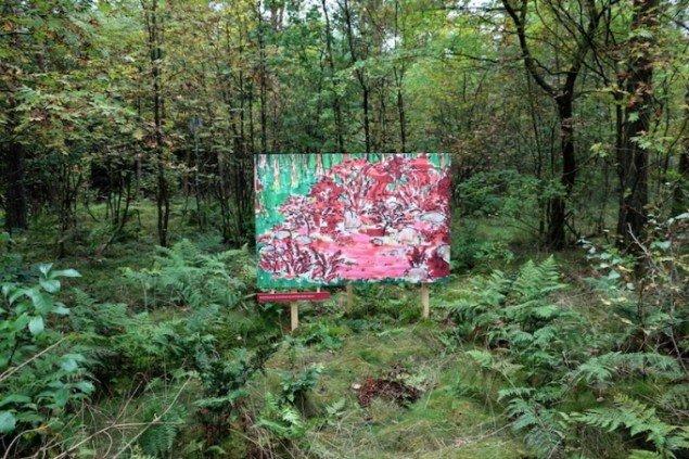 Mathias & Mathias: Planter rød skov. Foto: René Schmidt og Ida Hy