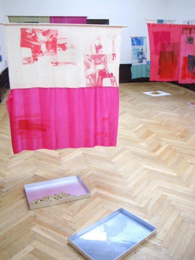 HELIOS - Augusta Atla & Nikos Branidis, 2015. Installationsfoto Banja Rathnov Galleri & Kunsthandel. Foto: Nikos Branidis