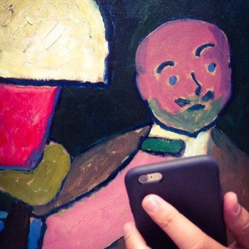 Foto: @gunnar_mergner. Museumofselfies.tumblr.com