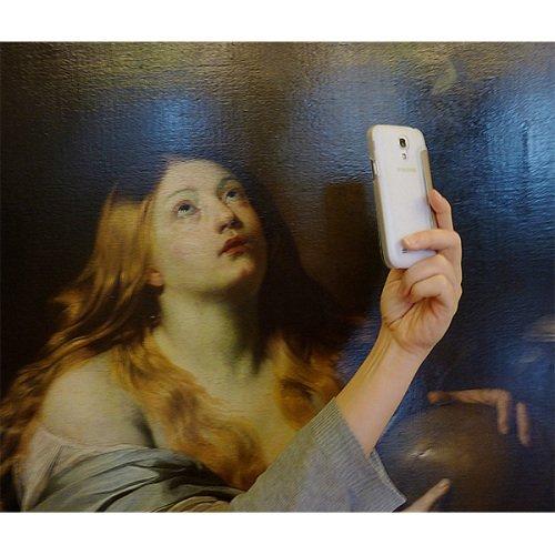Foto: Anna Schuster. Museumofselfies.tumblr.com