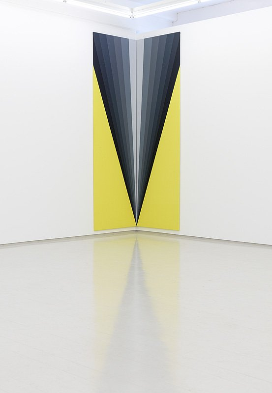 Zero Points, Galleri Lars Olsen, 2012. Foto: Anders Sune Berg