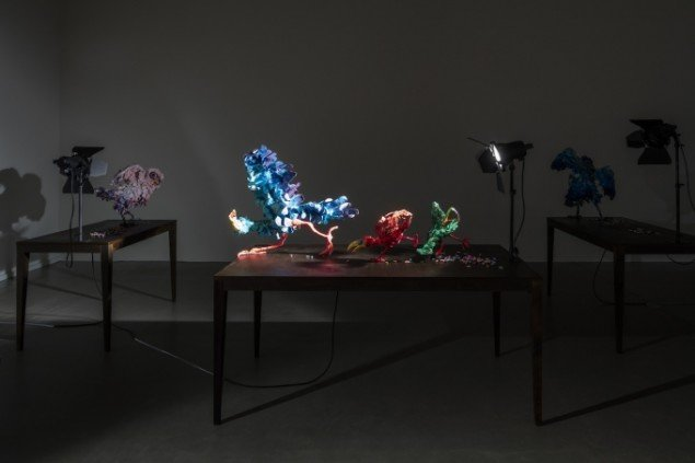Nathalie Djurberg og Hans Berg: Installationsview, A Thief Caught In The Act. Foto: Anders Sune Berg