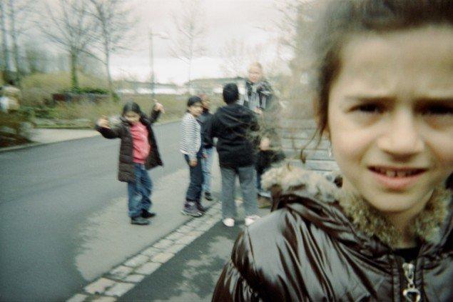 Foto taget af børnene selv under kunstprojektet De Hemmelige Huler, 2012