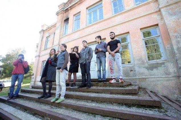 Mareike Wenzel: Old Theatre Machkhaani. (Foto: Mariam Gabrichidze)
