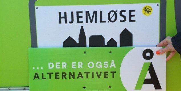 ... der er også Alternativet. (Foto: Karin Pedersen)