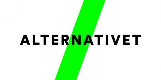 Alternativets logo.