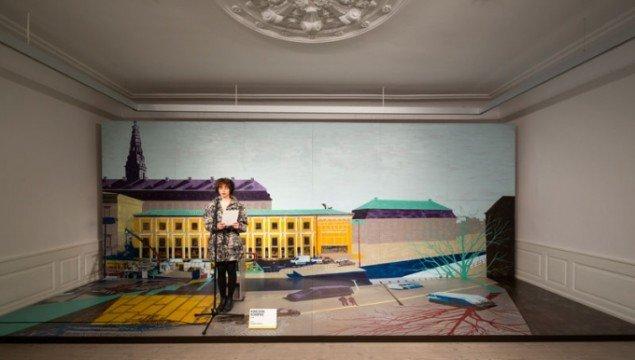 Hotel Pro Forma: Udsigten er malet med performer. (Foto: Torben Eskerod)