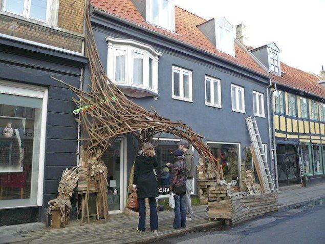 Flemming hus & have, 2008, Aarhus. Foto: Bureau Detours